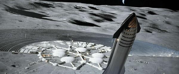 Илон Маск отправит людей на Луну в 2024 году