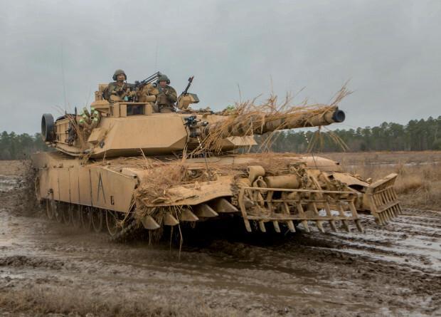 Морская пехота США стала отказываться от танков