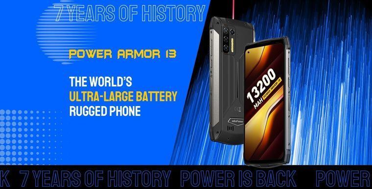 Рассекречен неубиваемый смартфон с самой большой в мире аккумуляторной батареей