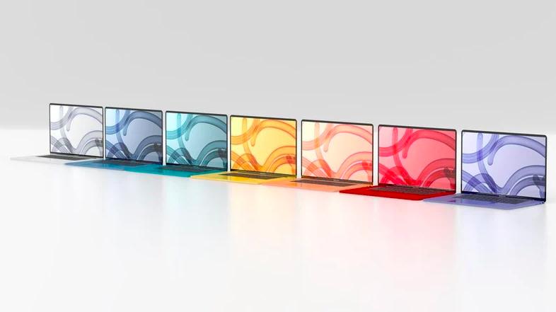 Apple выпустит MacBook Air всех цветов радуги