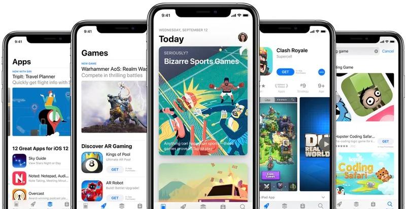 Владельцы iPhone стали больше тратить в App Store