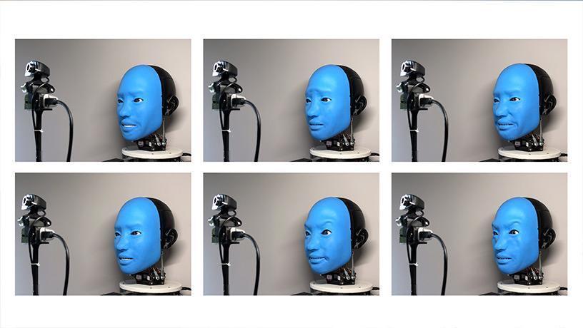 Учёные научили робота улыбаться в ответ