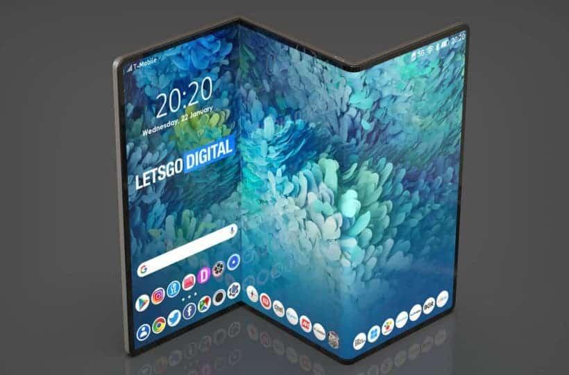 Новый гибкий смартфон Samsung получит слой-защиту от царапин