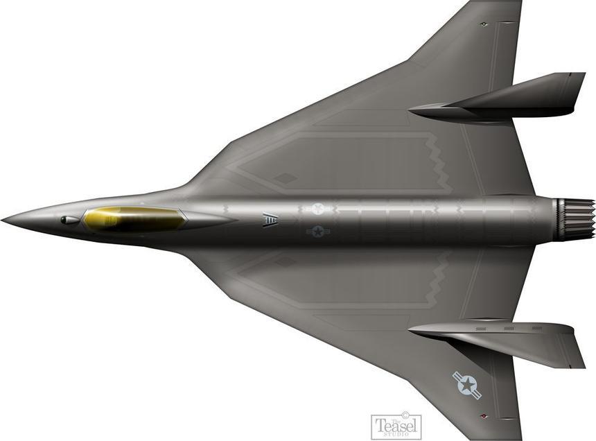 Показан истребитель будущего на замену американскому F-16