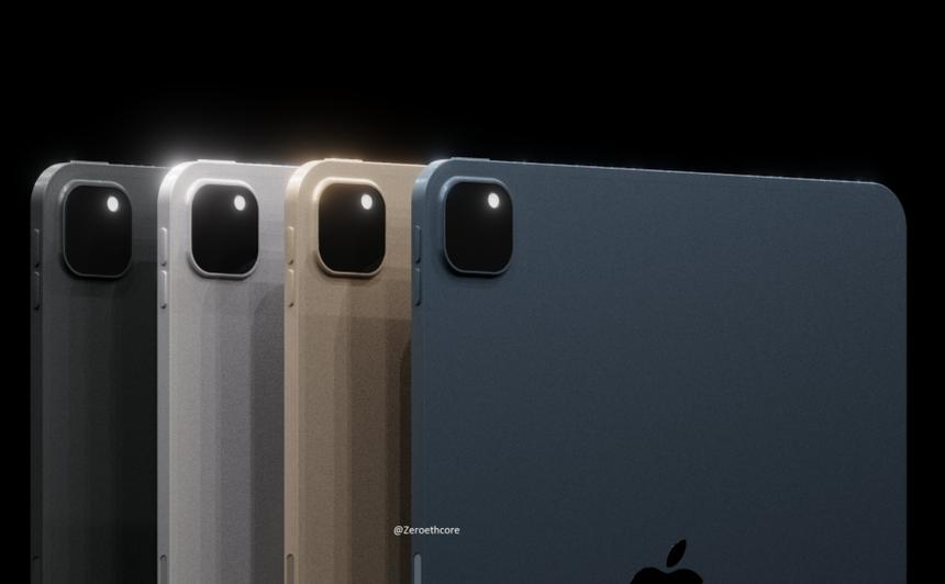 Опубликованы рендеры неанонсированного планшета Apple iPad Pro 2021