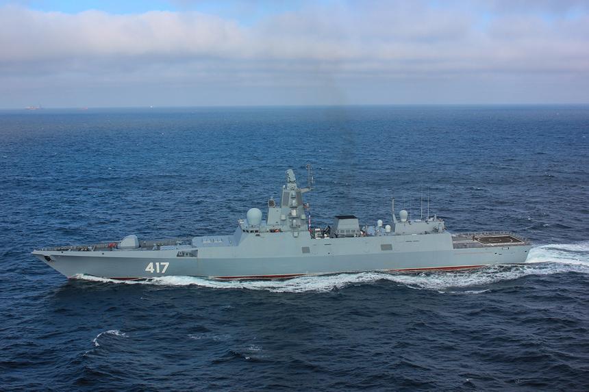 Россия расширит боевые возможности фрегатов