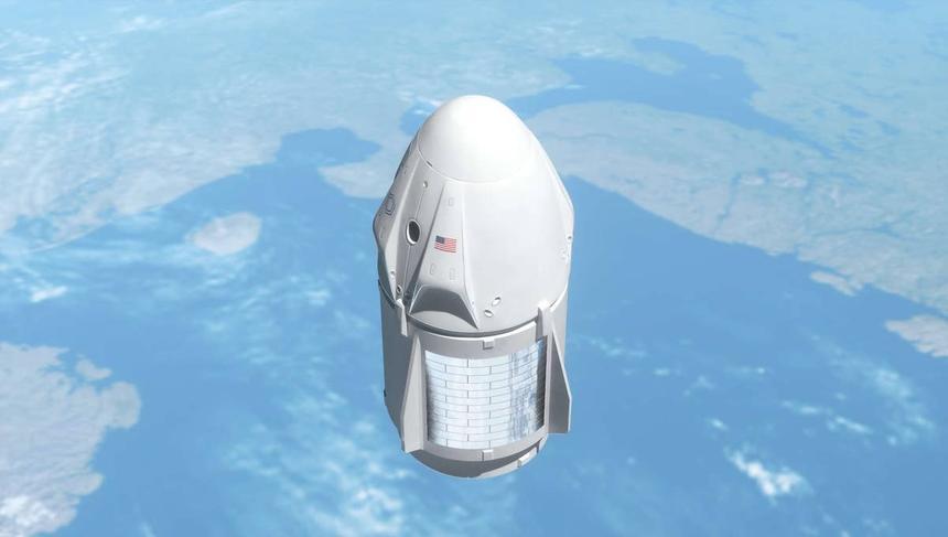 Компания Илона Маска отобрала гражданских людей для полёта на орбиту