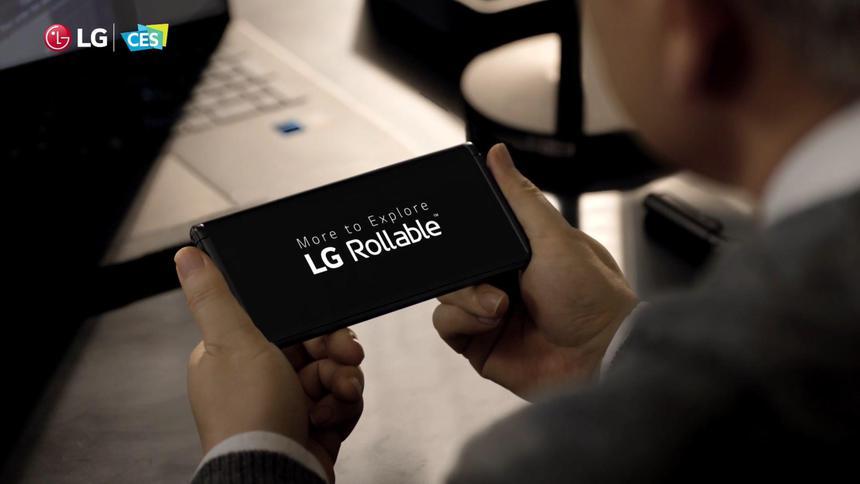 Невыпущенный смартфон-рулон LG внезапно получил сертификацию NFC