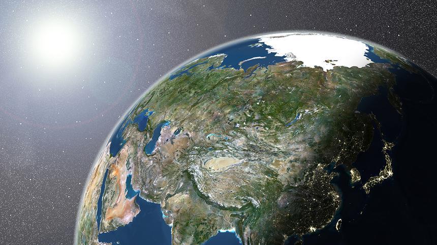 Опубликовано видео с изображением миллиарда лет эволюции Земли