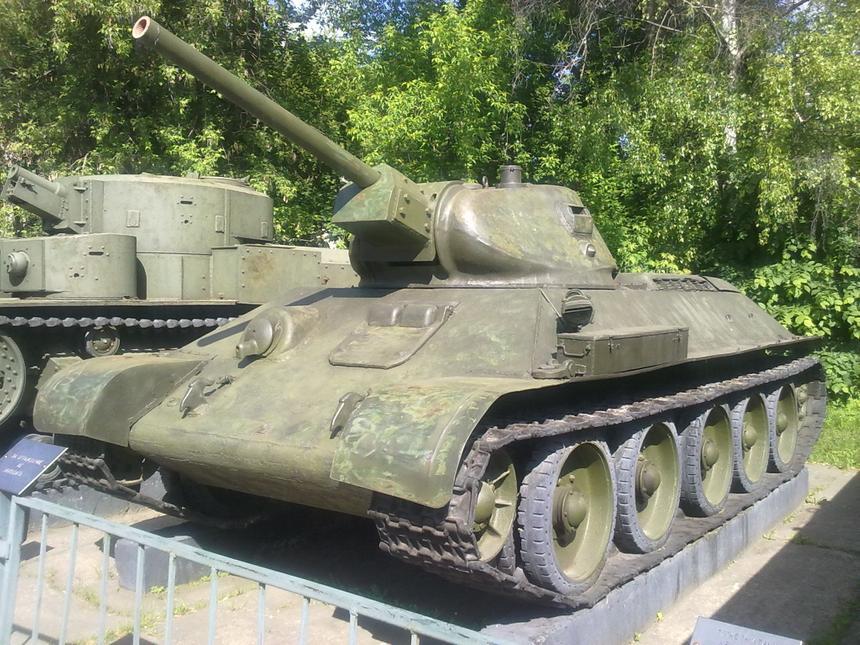 Американцы оценили долгий срок службы танка Т-34