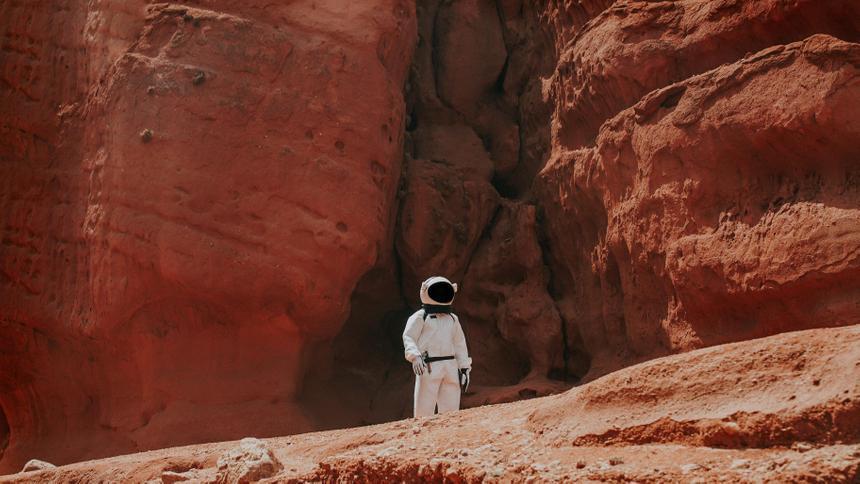 Илон Маск предложил построить город на Марсе