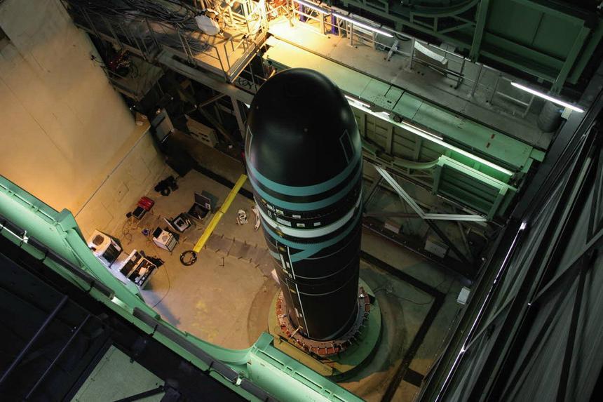 Французские военные испытали новейшую баллистическую ракету М51