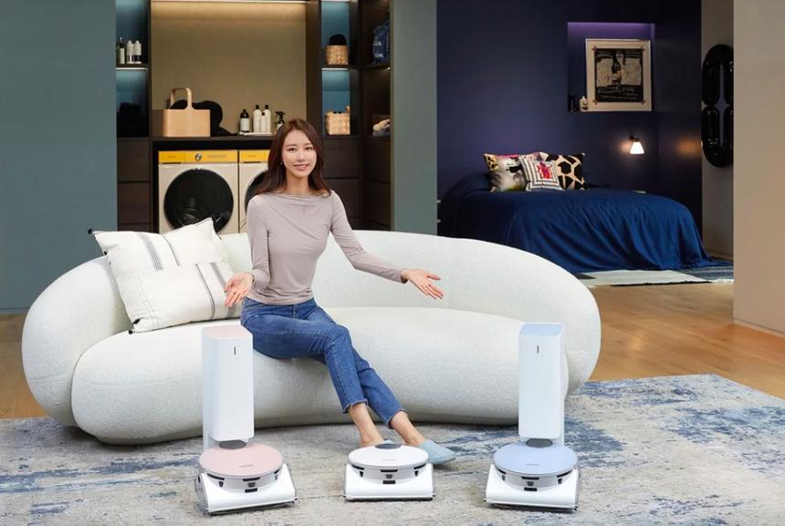 Новый робот-пылесос Samsung присмотрит за питомцами, когда никого нет дома