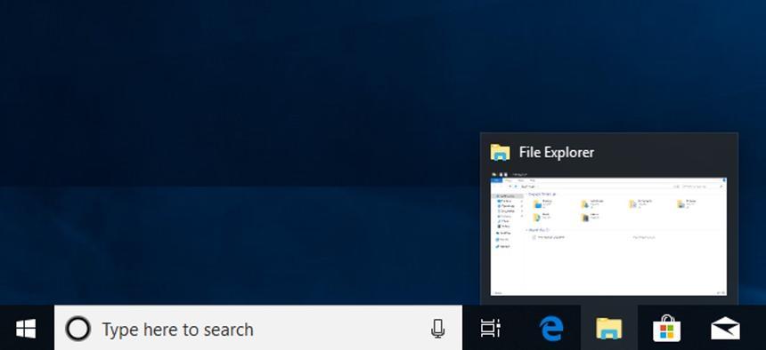 Microsoft добавила новые функции в панель задач Windows 10