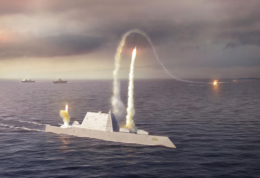В США раскрыли сроки внедрения в боевой эсминец Zumwalt новейшего гиперзвукового оружия