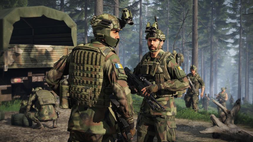 Реалистичный военный симулятор Arma 3 продают со скидкой 75%
