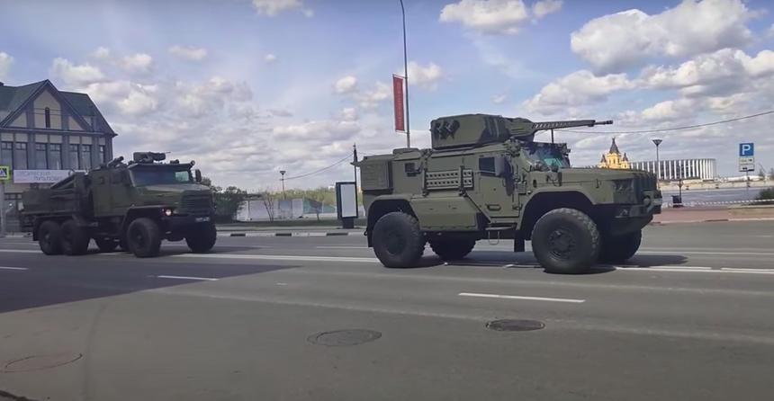 На видео попала новейшая российская артиллерия