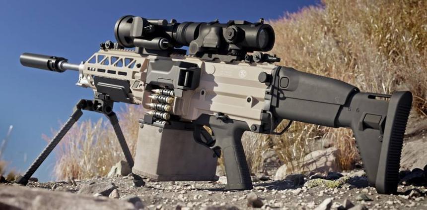 Создан сверхлёгкий ручной пулемёт