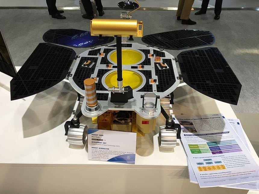 Китай впервые добрался до Марса