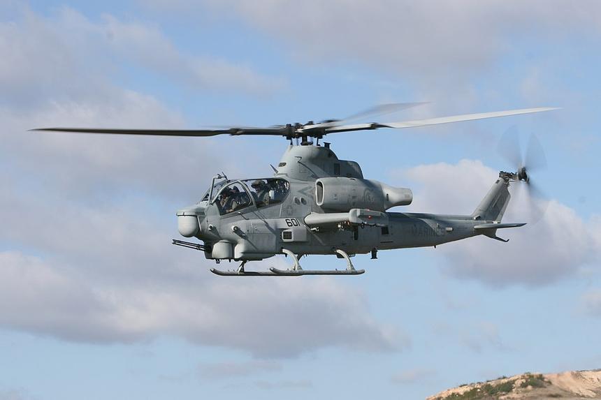 Военные США начали списывать ударные вертолёты Bell AH-1Z Viper