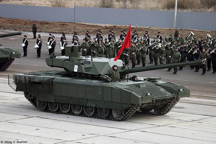 Американцы назвали танк «Армата» грозным противником