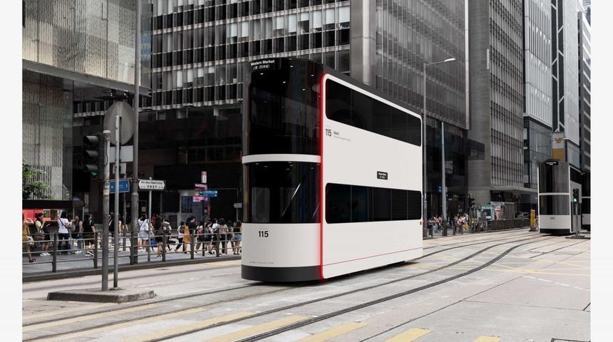 Показан специальный трамвай для перевозки пассажиров в период пандемии