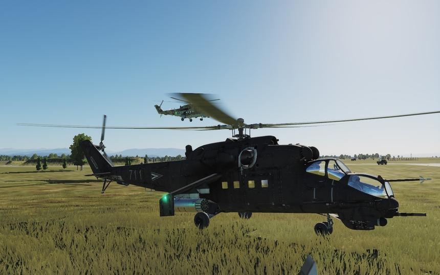 В реалистичном авиасимуляторе появится новый ударный вертолёт Ми-24П