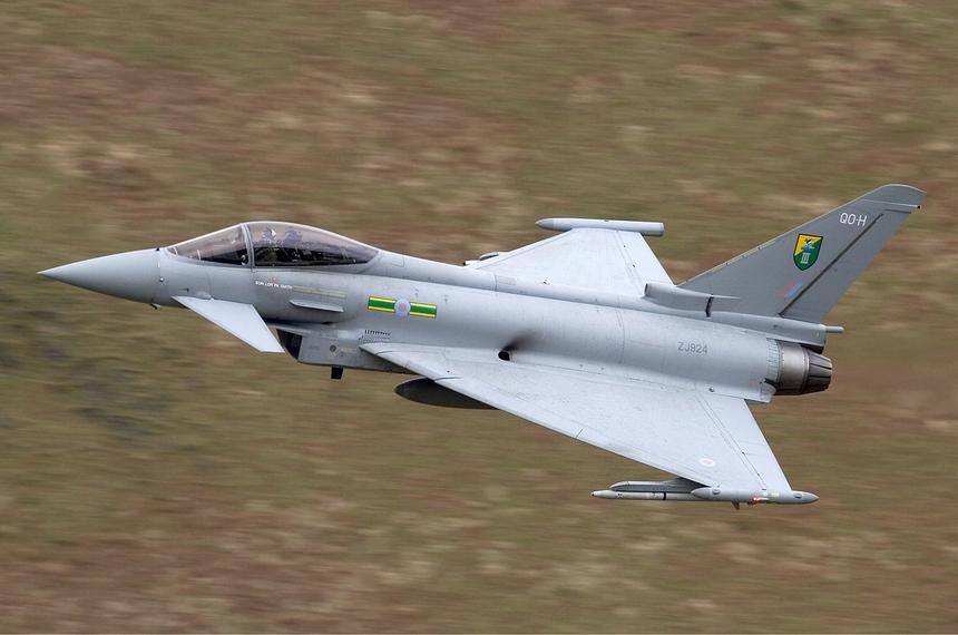 Показана новая схема окраски британских истребителей