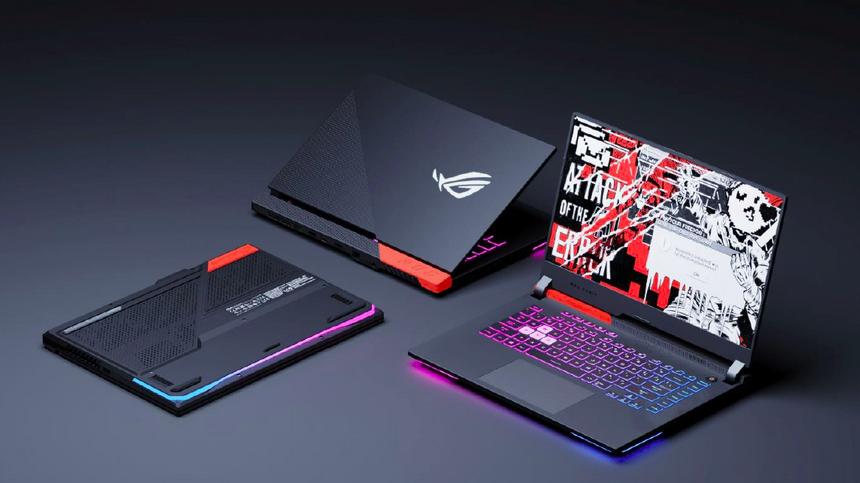 ASUS выпустила особую серию игровых ноутбуков с охлаждением графики жидким металлом