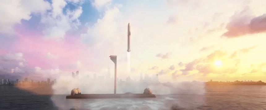 Илон Маск создаст два плавучих космодрома на базе нефтяных вышек
