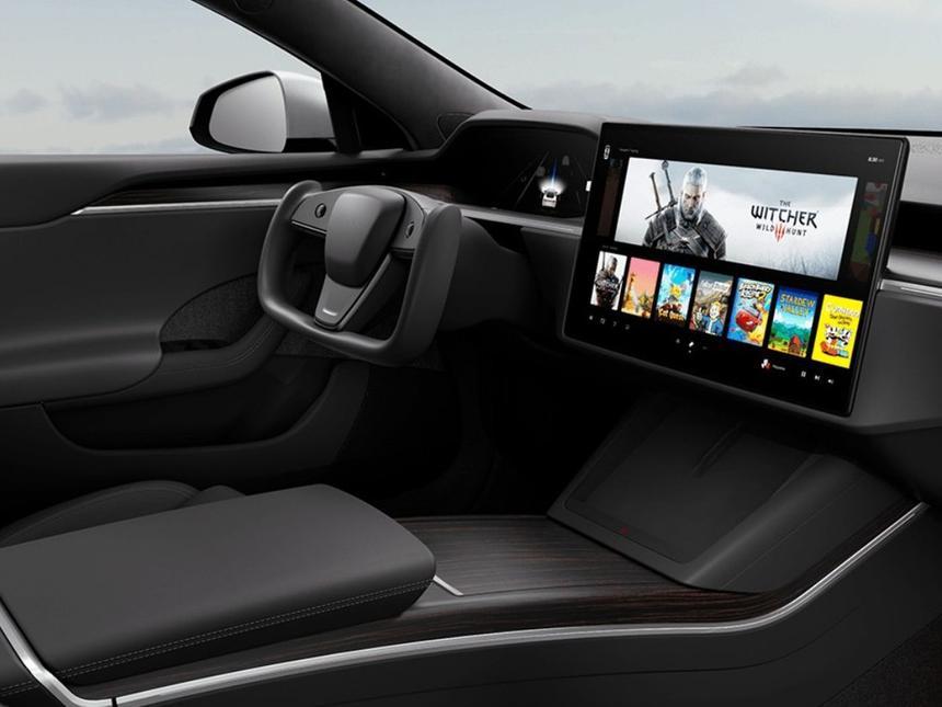 AMD анонсировала появление видеокарт консольного уровня в автомобилях Tesla