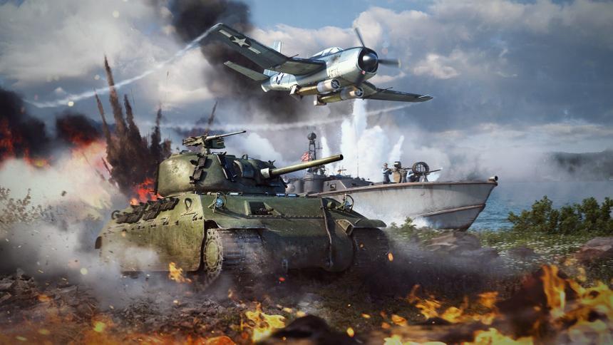 War Thunder получила поддержку новейшей технологии NVIDIA в числе первых