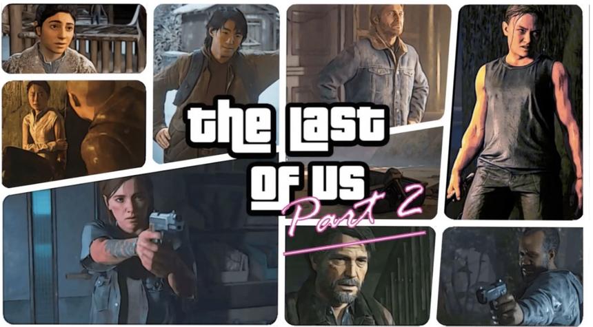 Энтузиаст перенес загрузочный экран The Last of Us 2 во вселенную GTA