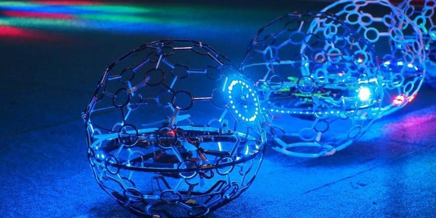 Создан чемпионат по футболу для дронов
