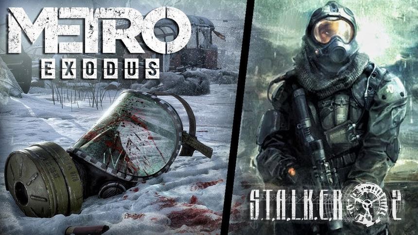 Графику игр S.T.A.L.K.E.R. 2 и Metro Exodus сравнили на видео