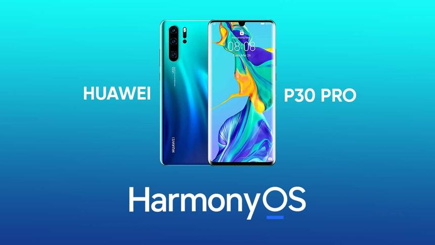 Флагманские Huawei P30 двухгодовалой давности начали получать HarmonyOS