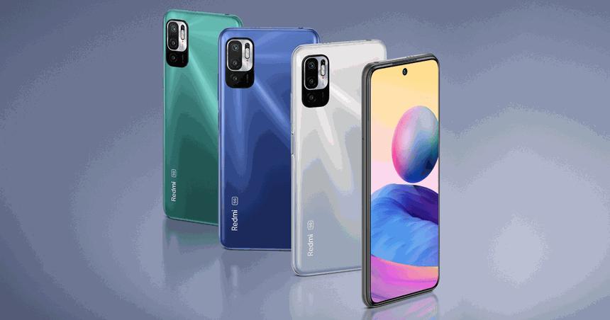 Xiaomi привезла в Россию недорогие смартфоны Redmi Note 10T и 10S