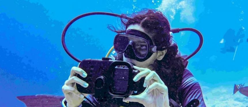 На флагманский смартфон Samsung Galaxy S21 Ultra сняли фильм о подводной жизни