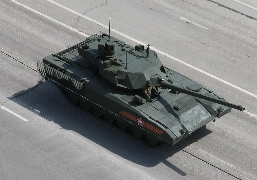 Раскрыты сроки начала серийного производства танка «Армата»