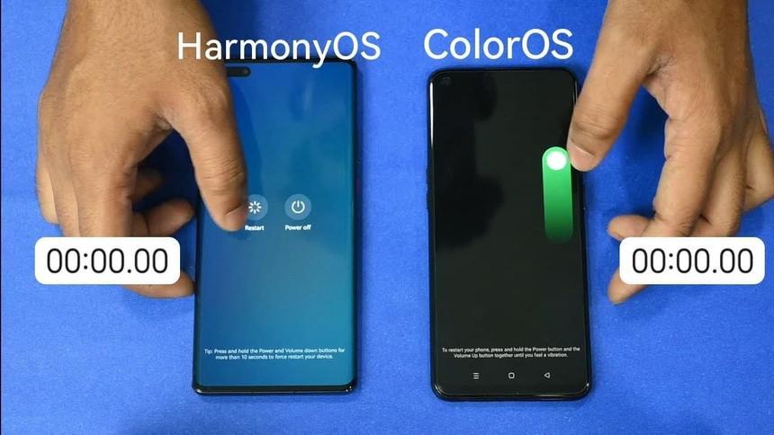 Смартфоны с Huawei на базе HarmonyOS превзошли Android в тесте быстродействия системы