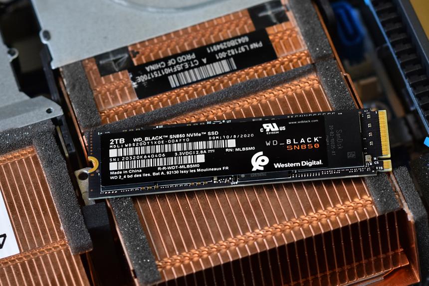 WD ускорила SSD-накопитель через обновление прошивки