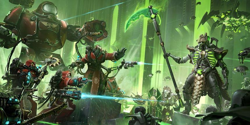Стартовала распродажа игр серии Warhammer