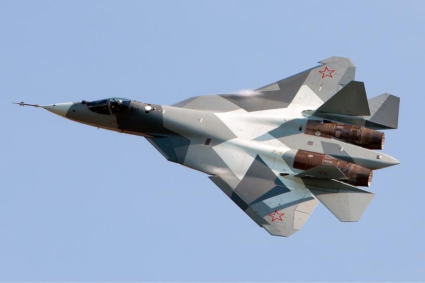 Американцы отказались признавать угрозой российский истребитель Су-57