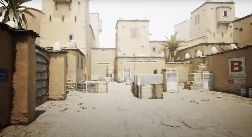 Карты из Counter-Strike воссоздали с фотореалистичной компьютерной графикой