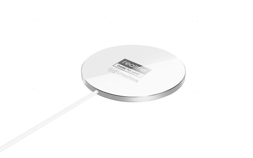 Раскрыта внешность аналога беспроводной зарядки Apple MagSafe от Realme